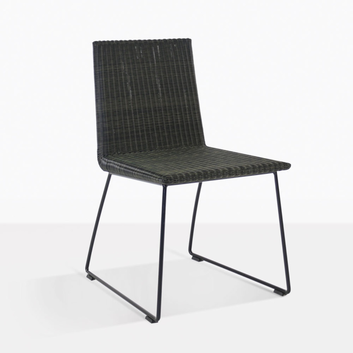 Retro Modern Wicker Dining Chair