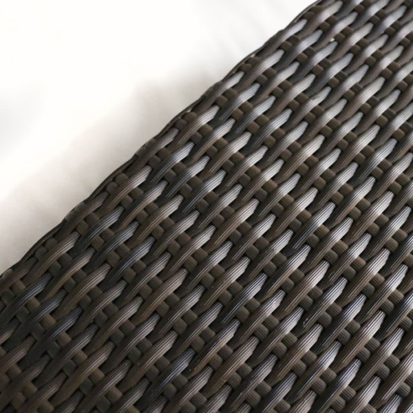 premium outdoor wicker closeup