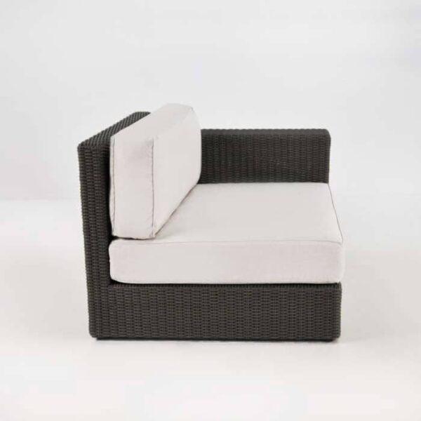 outdoor wicker side chair