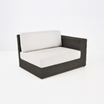 Austin Outdoor Wicker Sectional Java (Left)-0