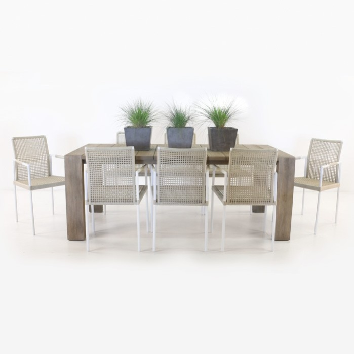 Zumba Dining Table and 8 Moderno Chairs -0