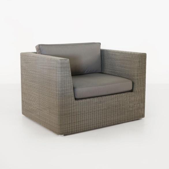 Antonio Outdoor Wicker Club Chair (Stonewash)-0