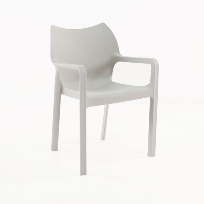 Cape Cafe Dining Chair (Grey)-0