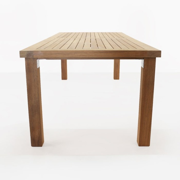 Long Island Teak Dining Tables 0 A Grade Table Side View