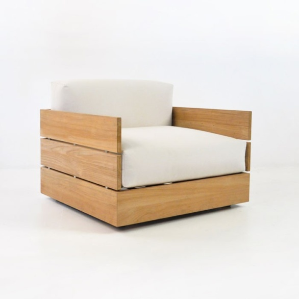 Soho Teak Club Chair-0