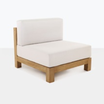 Ibiza Teak Sectional Center Chair-0