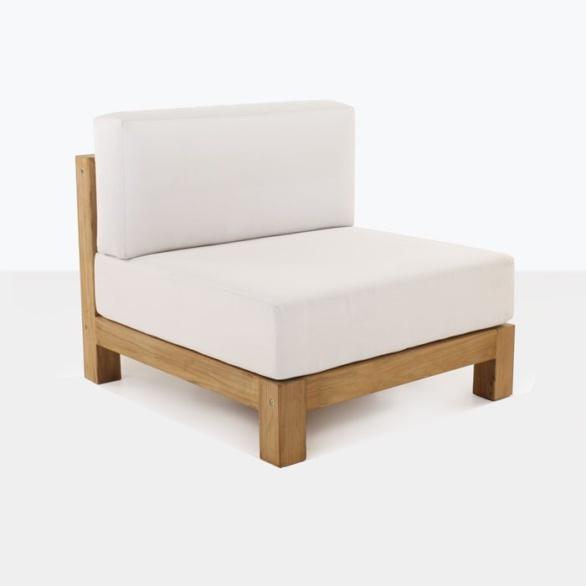 Ibiza Teak Sectional Center Chair-0