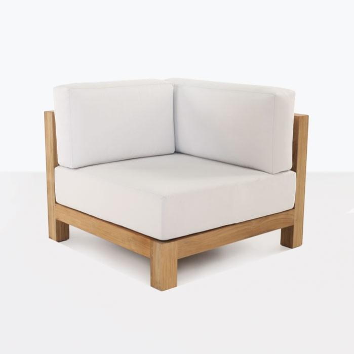 Ibiza Teak Sectional Corner Chair-0