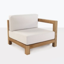 Ibiza Teak Sectional Left Arm Chair-0