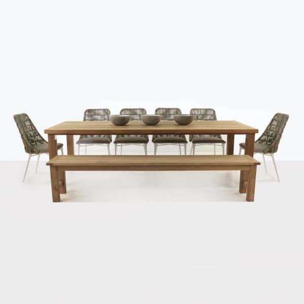 Long Island Dining Set with Morgan Chairs-0