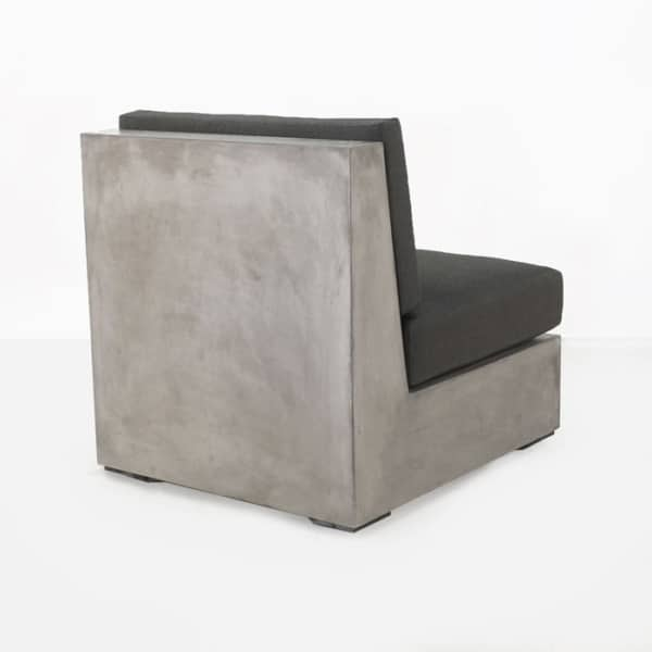 concrete outdoor chair