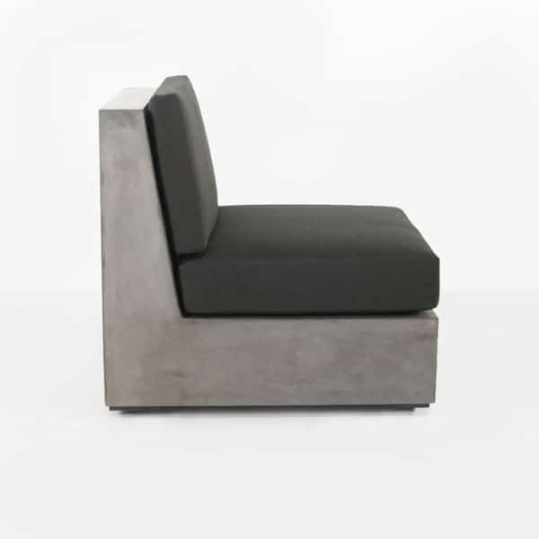 modern concrete outdoor chair