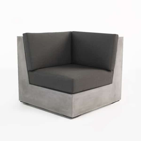 Box Concrete Corner Chair-0