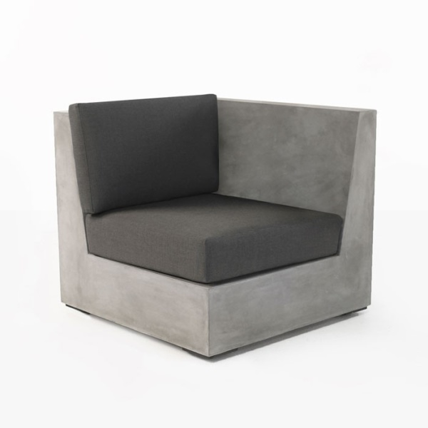 Box Concrete Chair (Left)-0