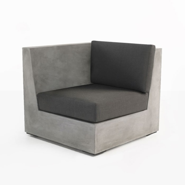 Box Concrete Chair (Right)-0
