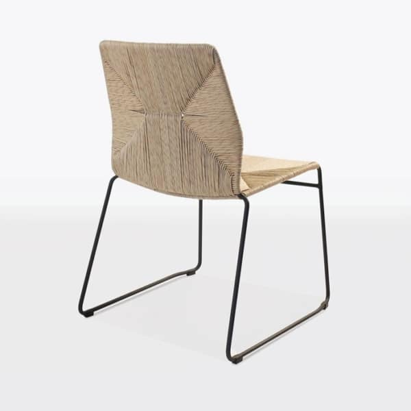 Outdoor Dining Chairs fiber and steel