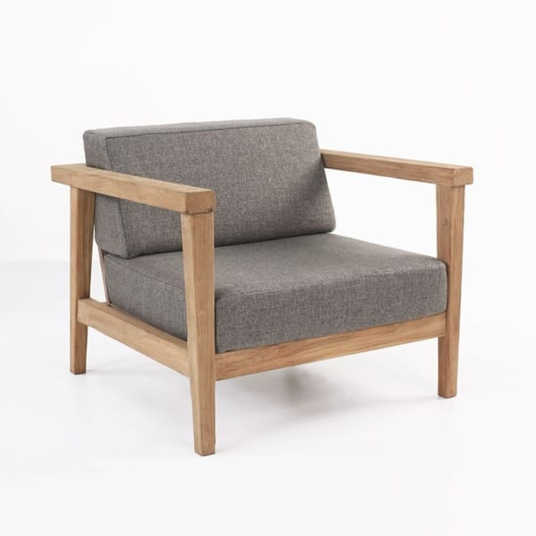 Copenhague Reclaimed Teak Club Chair-0