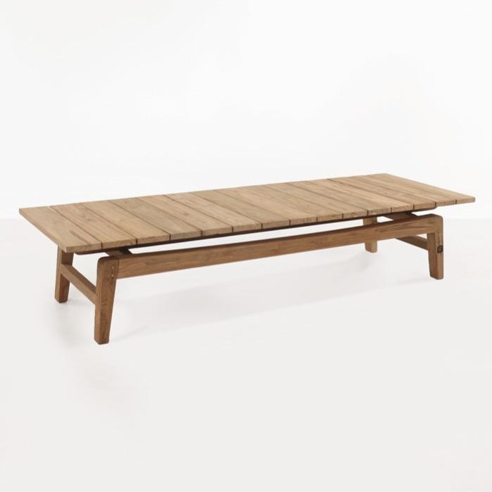 Copenhague Reclaimed Teak Coffee Table-0