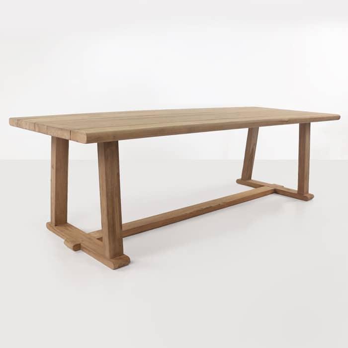 joseph reclaimed teak dining table dining tables teak. Black Bedroom Furniture Sets. Home Design Ideas