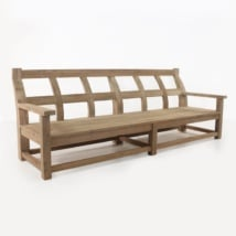 Millar Reclaimed Teak Bench-0