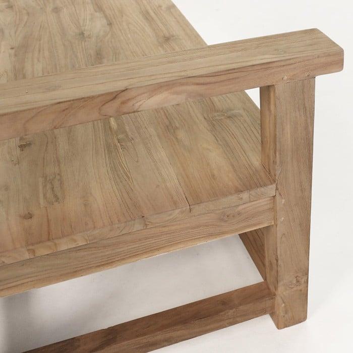 millar reclaimed teak bench benches teak warehouse. Black Bedroom Furniture Sets. Home Design Ideas