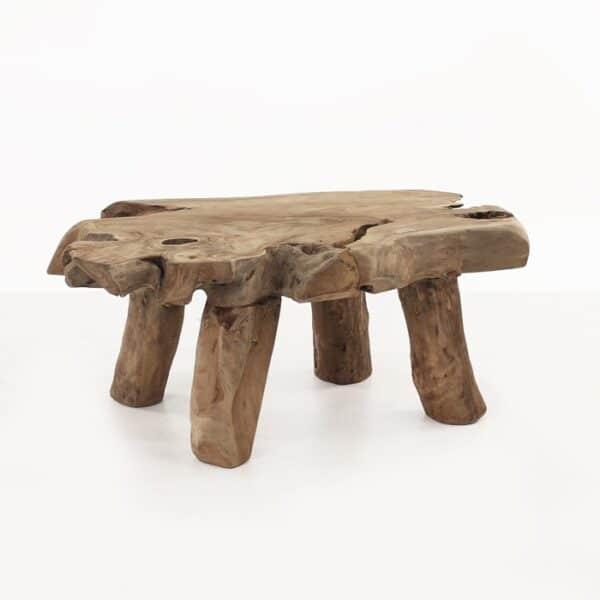 Nature Reclaimed Teak Coffee Table-0