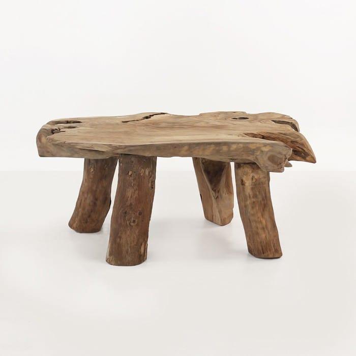 Teak Coffee Tables And Teak: Nature Reclaimed Teak Coffee Table