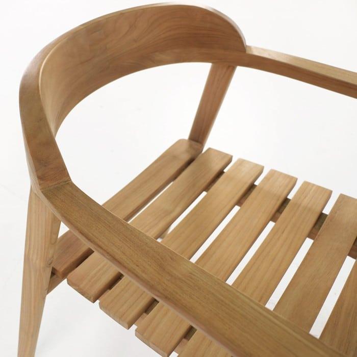 Neil Teak Outdoor Dining Chair Teak Warehouse