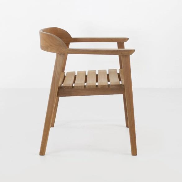 premium teak outdoor chair