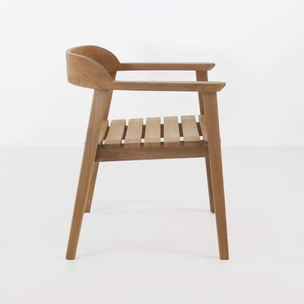 premium teak outdoor chair