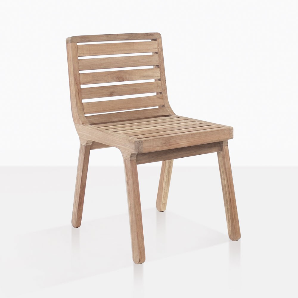 Oslo Reclaimed Teak Dining Chair Outdoor Patio Seating