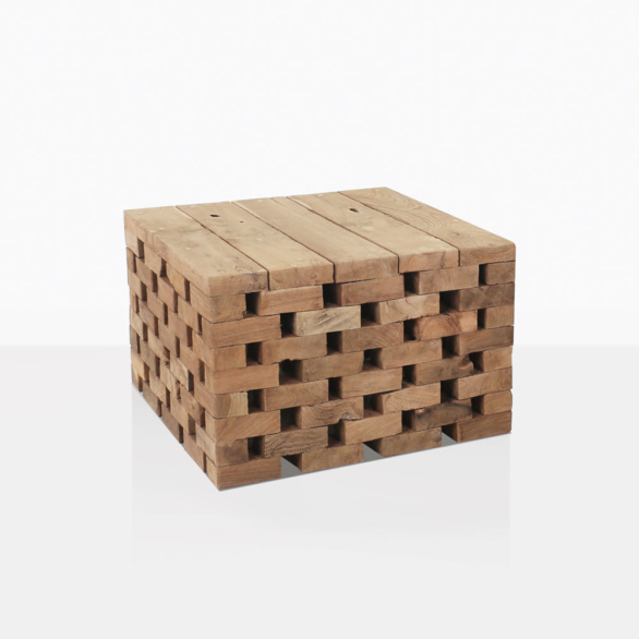 Puzzle Reclaimed Teak Coffee Table Large