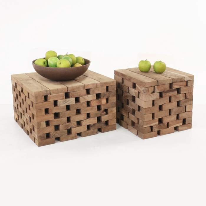 Puzzle Reclaimed Teak Coffee Tables-0