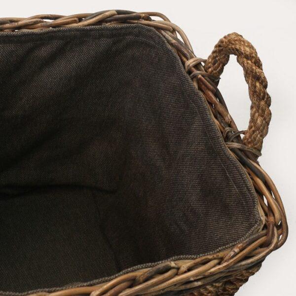 rope basket lining