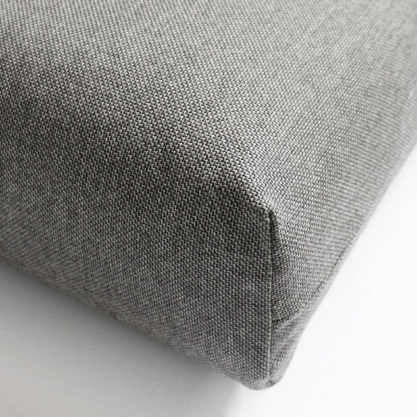 Sunbrella Essential Granite Cushion Closeup