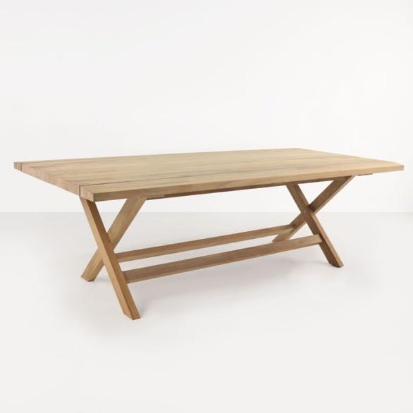 Artisan Teak Outdoor Dining Table-0