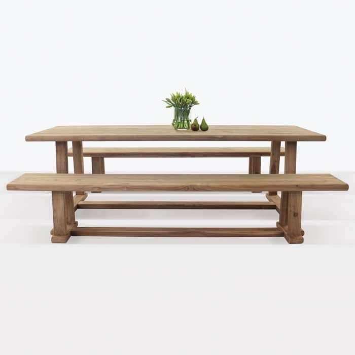 Joseph Outdoor Dining Table And Bench