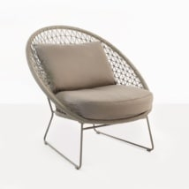 Natalie Rope Relaxing Chair (Taupe)-0