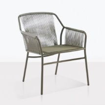phileep dining chair outdoor angle