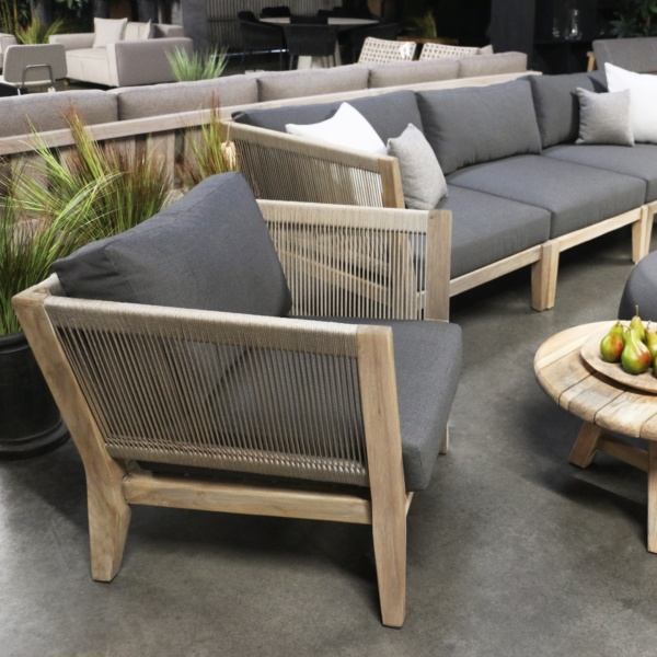 ventura deep seating teak collection