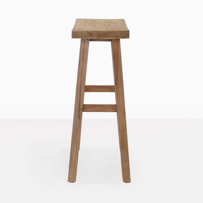 maid reclaimed teak bar stool teak warehouse. Black Bedroom Furniture Sets. Home Design Ideas