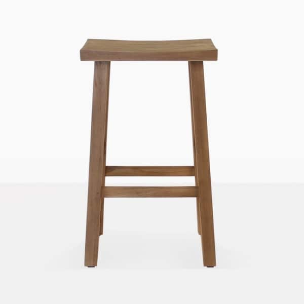 reclaimed teak bar stool image2