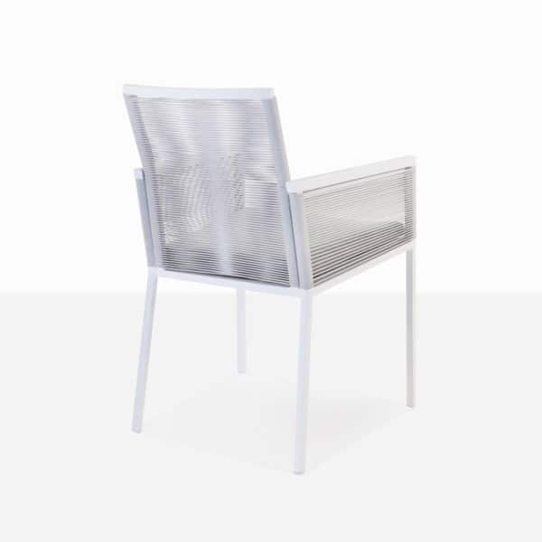 woven outdoor dining chair