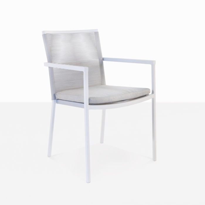 Republic Stacking Woven Dining Chair (Stone)-0