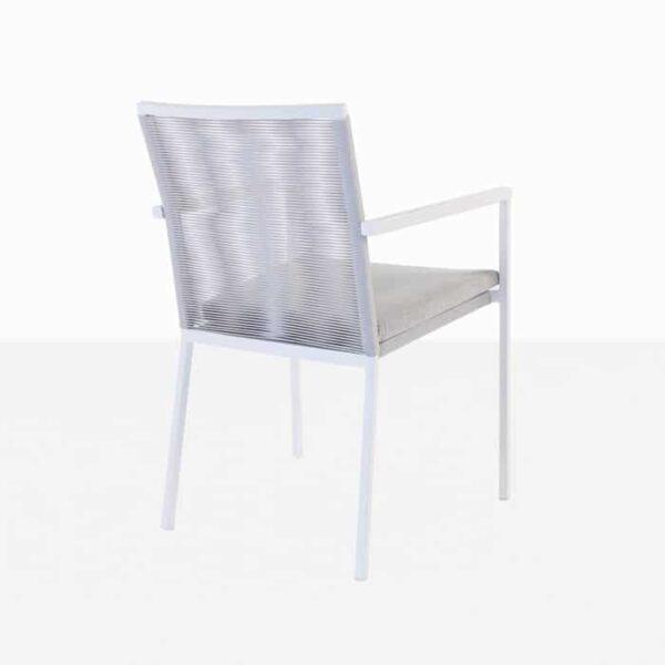 Modern outdoor dining chair