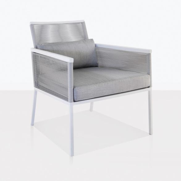 Republic White Aluminum Relaxing Chair