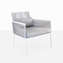 Republic Outdoor Woven Relaxing Chair (Stone)-0