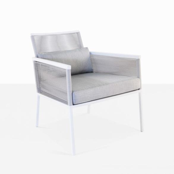 Republic Outdoor Woven Relaxing Chair (Stone)-0