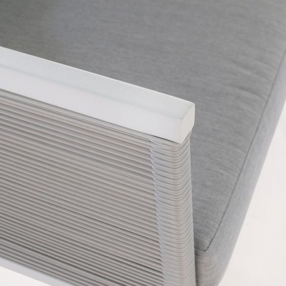 powder-coated aluminum closeup image