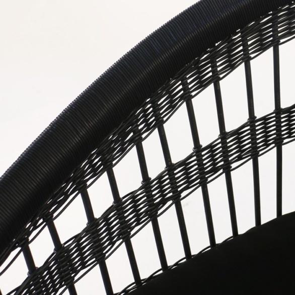 synthetic outdoor wicker weave